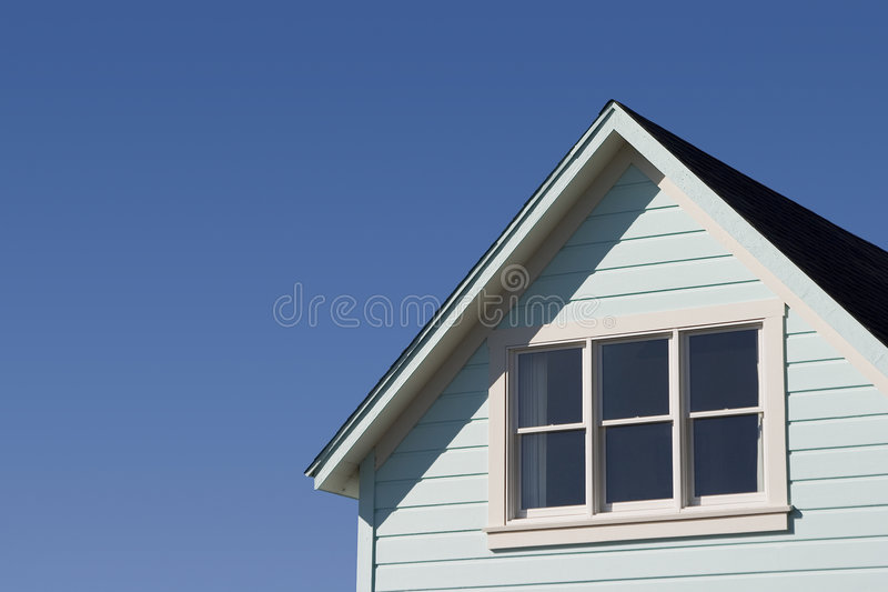 Typical House Roof royalty free stock photography