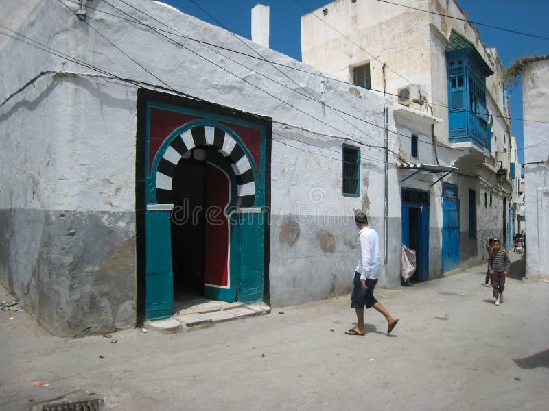 A street in the medina. Tunis. Tunisia royalty free stock photos
