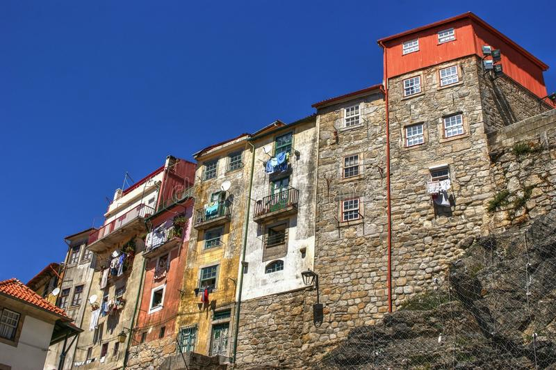 Download Typical Houses Of Downtown In Porto Stock Photo - Image of place, beautiful: 83614532