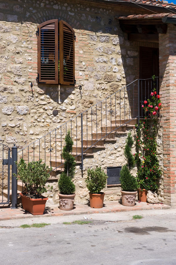 Typical Italian House Royalty Free Stock Images