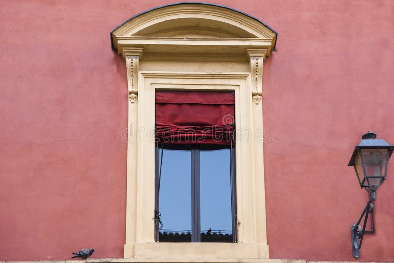 Typical italian window royalty free stock images