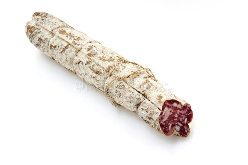 Download Typical italian salami stock photo. Image of isolated - 34638178