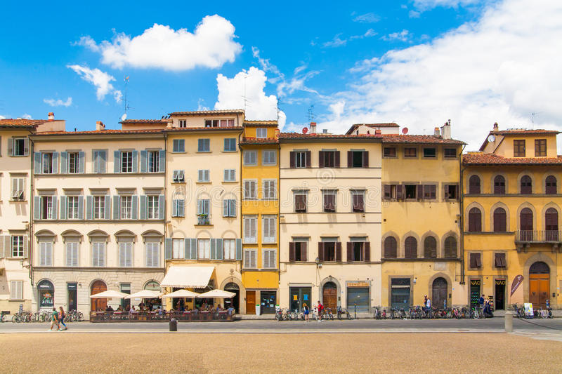 The typical italian street. royalty free stock image