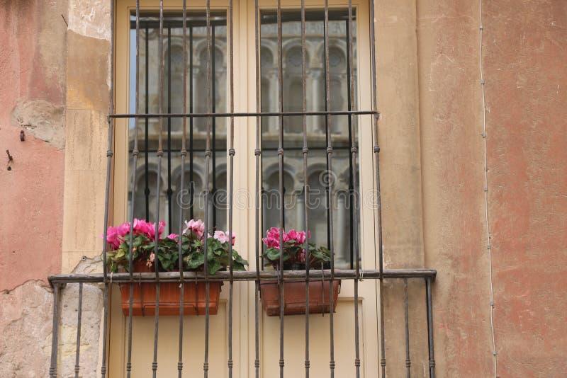 Typical Italian window royalty free stock photo