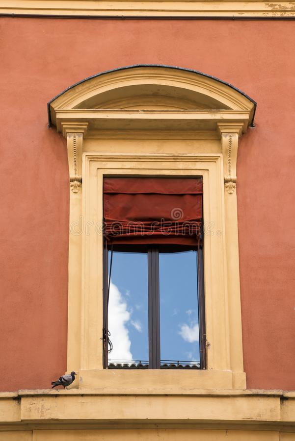 Typical italian window royalty free stock photography