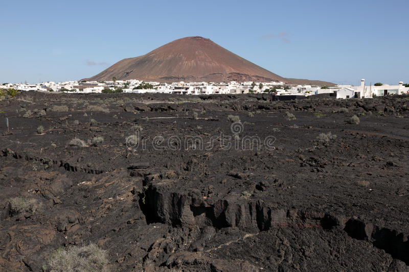 Download Typical Lanzarote Landscape Stock Photography - Image: 22626992