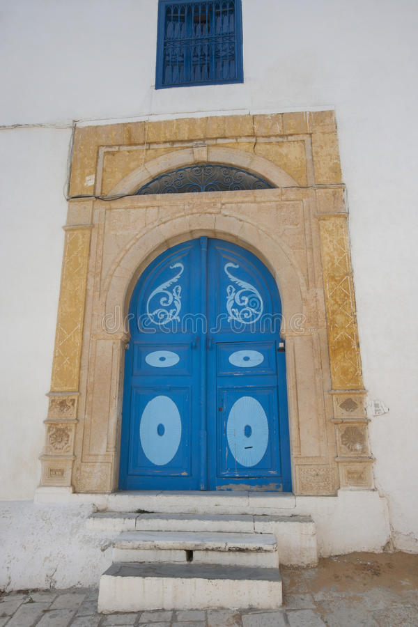 Download Typical Local Door Of Traditional Home, Tunis, Tunisia Stock Photo - Image: 41408994