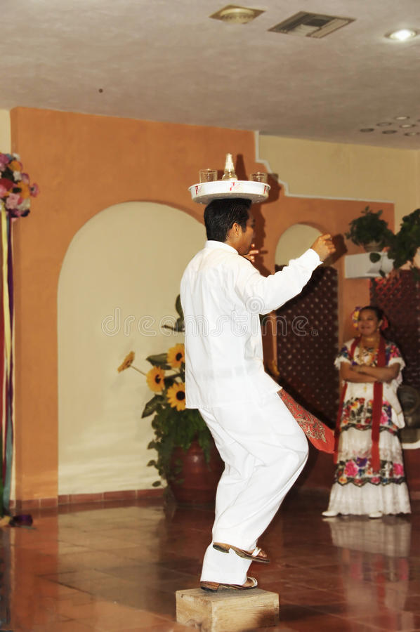 Download Typical Mexican dancer editorial stock image. Image of active - 18773389