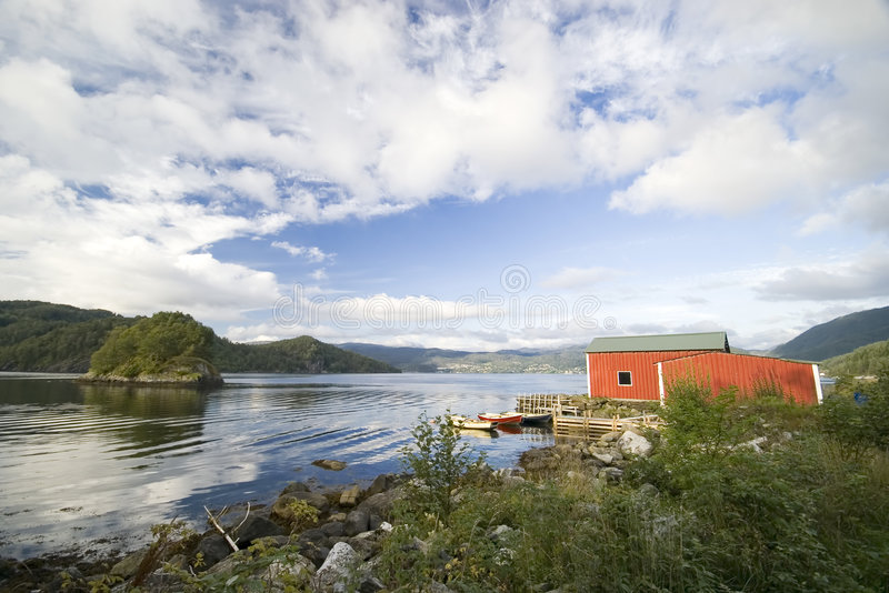 Download Typical Norway stock photo. Image of scenic, summer, painted - 2995598
