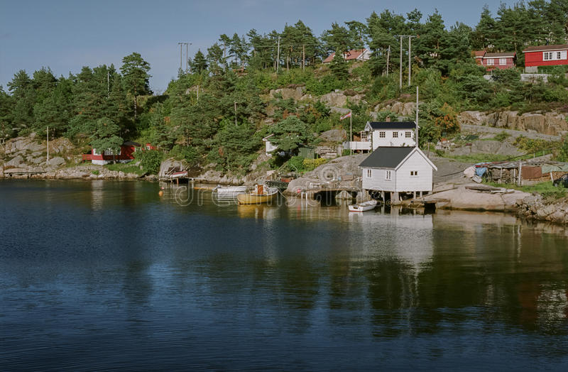 Download Typical Norwegian view editorial photography. Image of norway - 32891352