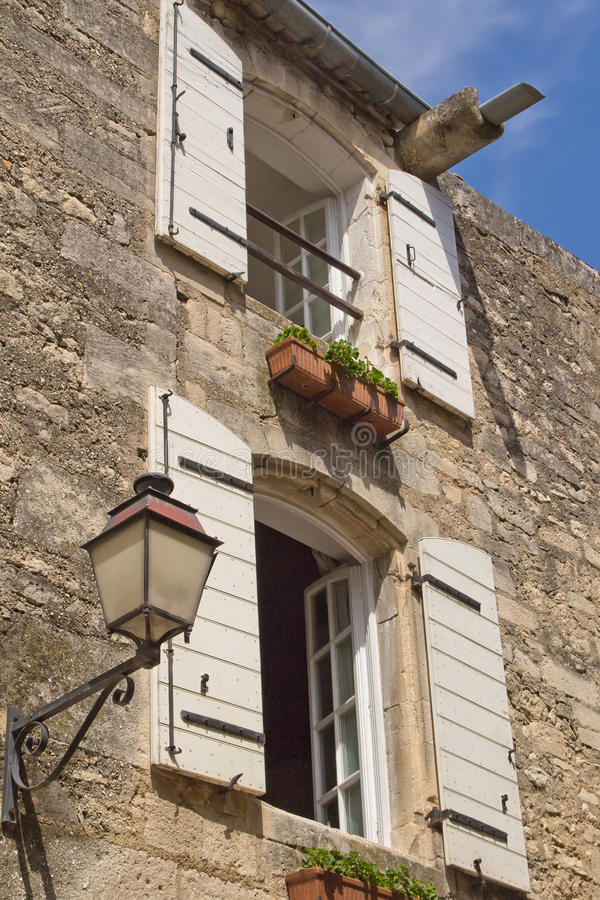 Typical Provencal stone house royalty free stock image