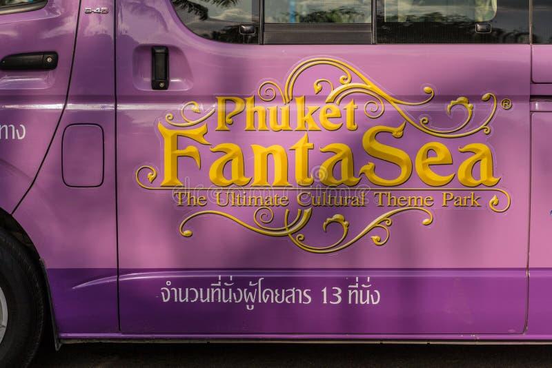A typical scene in Karon Phuket Thailand stock photo