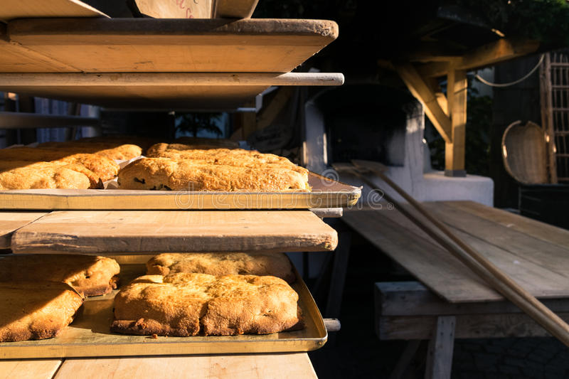Download Typical Strudel Of Southern Tyrol Cooked In A Wood Oven. Stock Photo - Image: 83723898