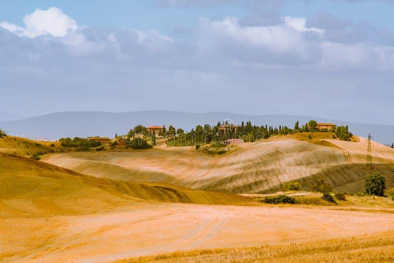 Typical Tuscany landscape stock image
