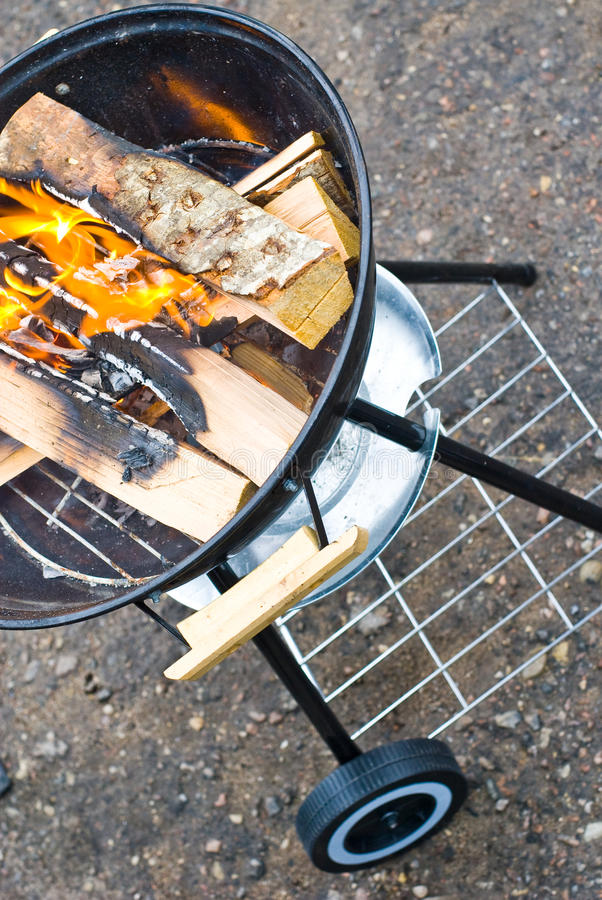 Download Typical UFO grill stock photo. Image of coal, grill, grilling - 14098998