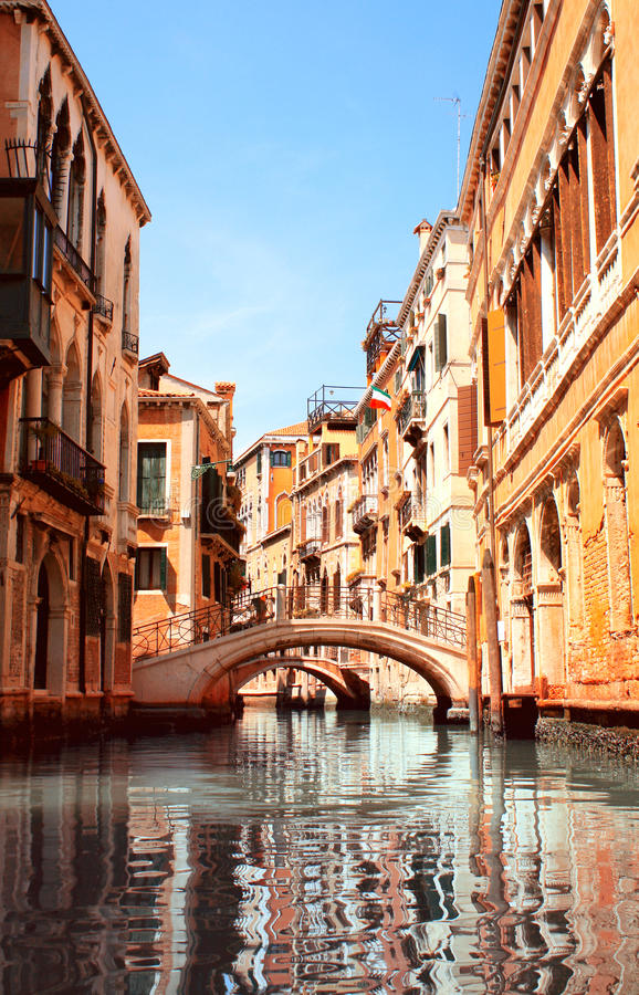 Download Typical Venice street stock photo. Image of street, outdoor - 25595860