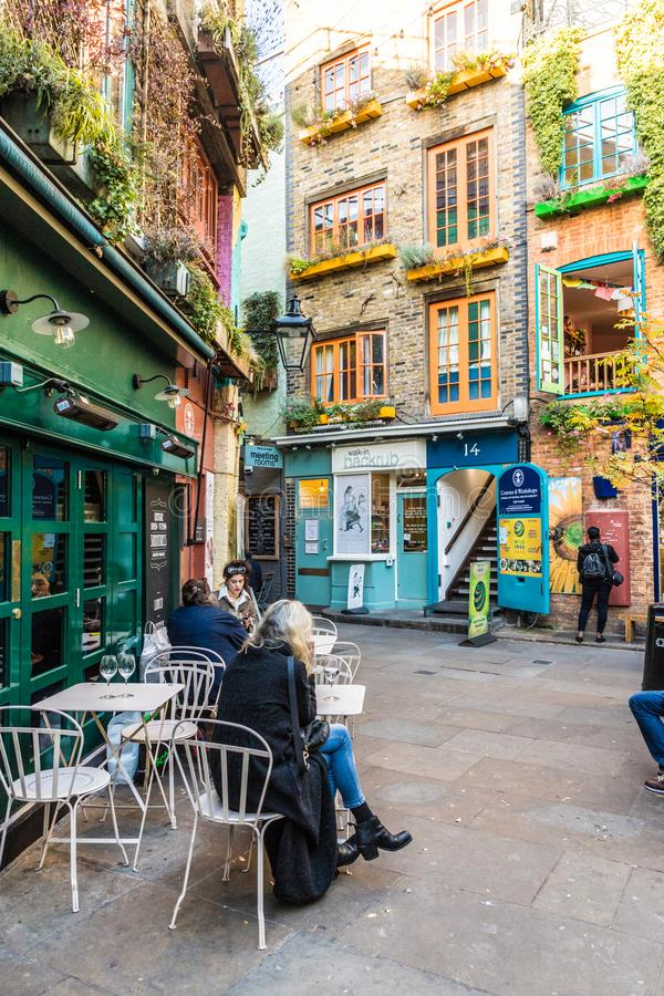 A typical view in London stock photography