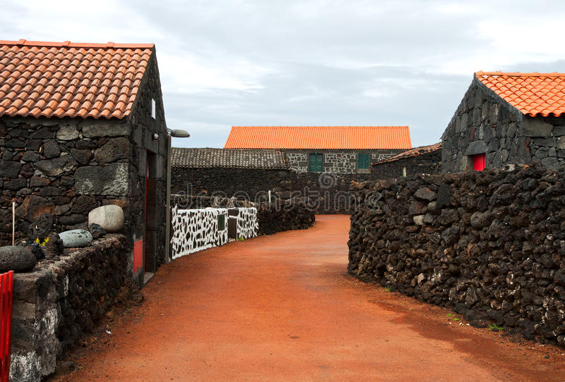 Typical Village Of The Azores Stock Images