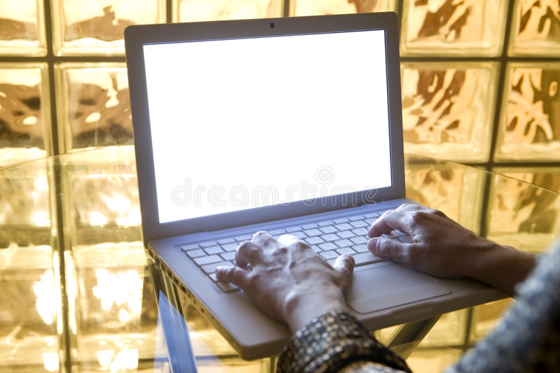 Download Typing on Laptop 06 stock image. Image of human, computer - 7738429