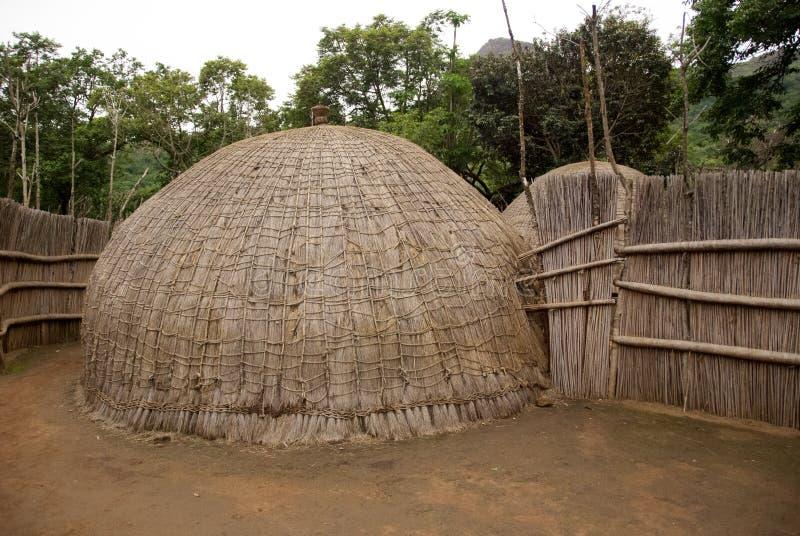 Typisch Afrikaans huis royalty-vrije stock fotografie