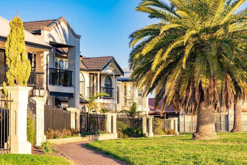 Typisch Australisch huis royalty-vrije stock foto