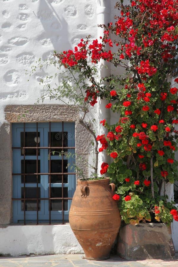 Typisch Grieks huis royalty-vrije stock fotografie