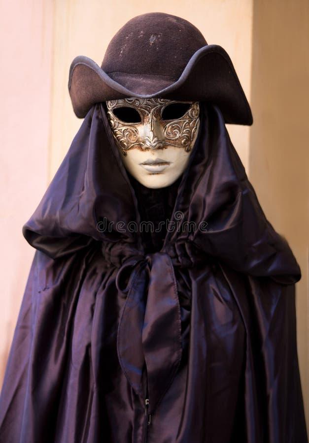 Typisch kostuum in Venetië royalty-vrije stock afbeeldingen