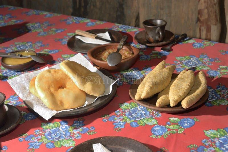 Typisch voedsel Mapuche royalty-vrije stock fotografie