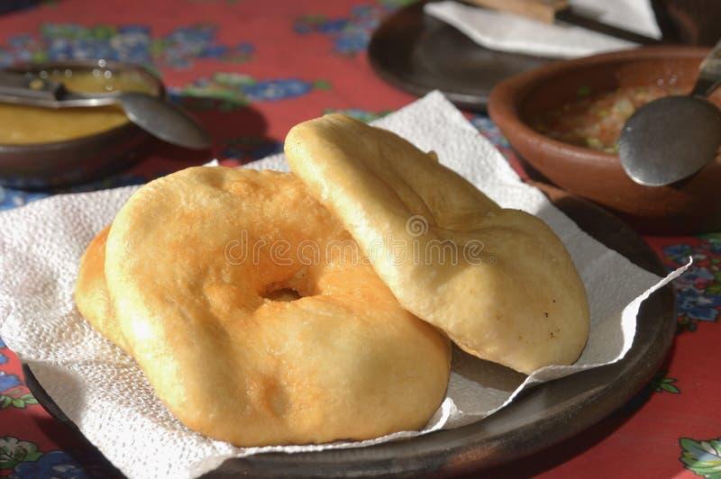 Typisch voedsel van Chili stock fotografie