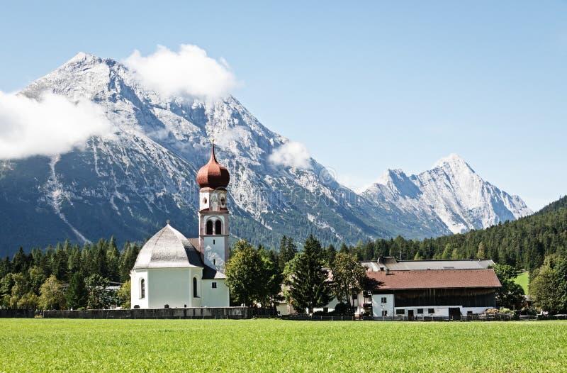 Beierse kerk royalty-vrije stock foto