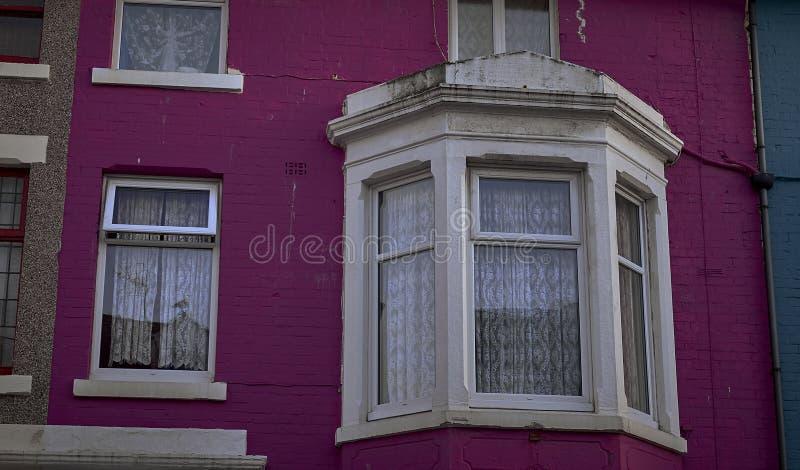 Typische Engelse Huizen stock foto's
