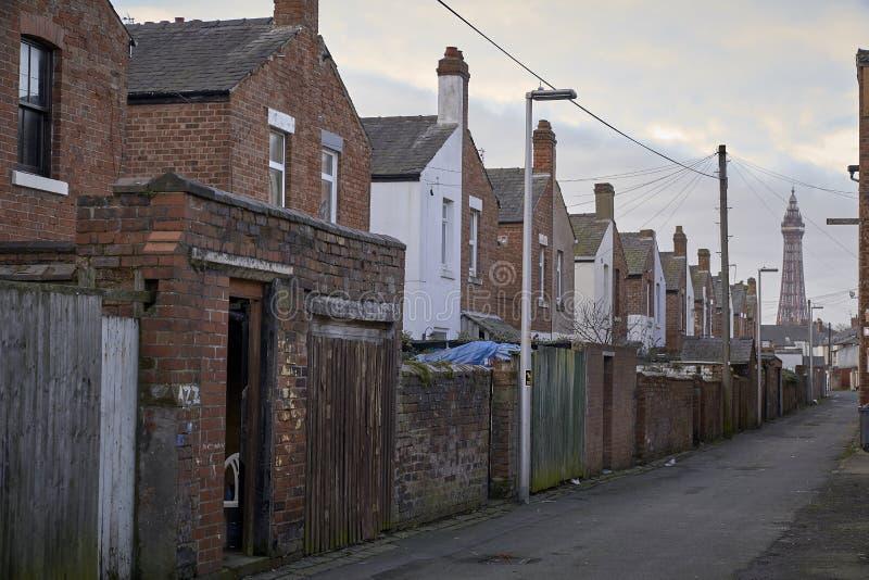 Typische Engelse Huizen royalty-vrije stock afbeelding