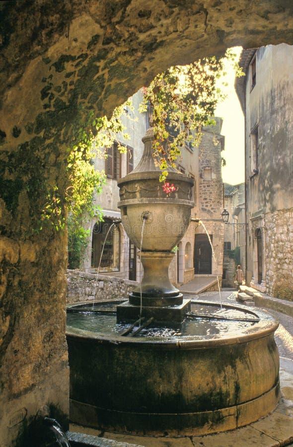 Typische fontein royalty-vrije stock afbeelding