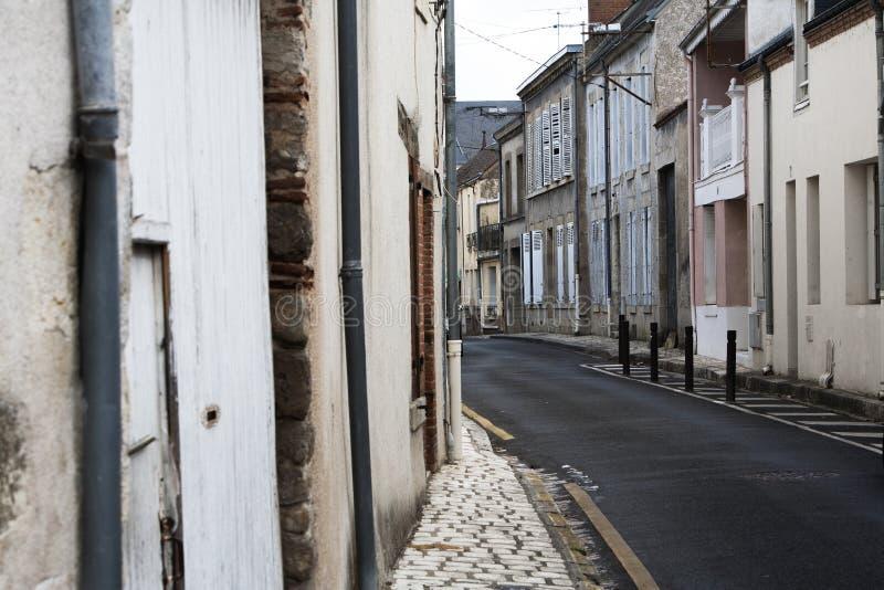 Typische Franse straat royalty-vrije stock fotografie