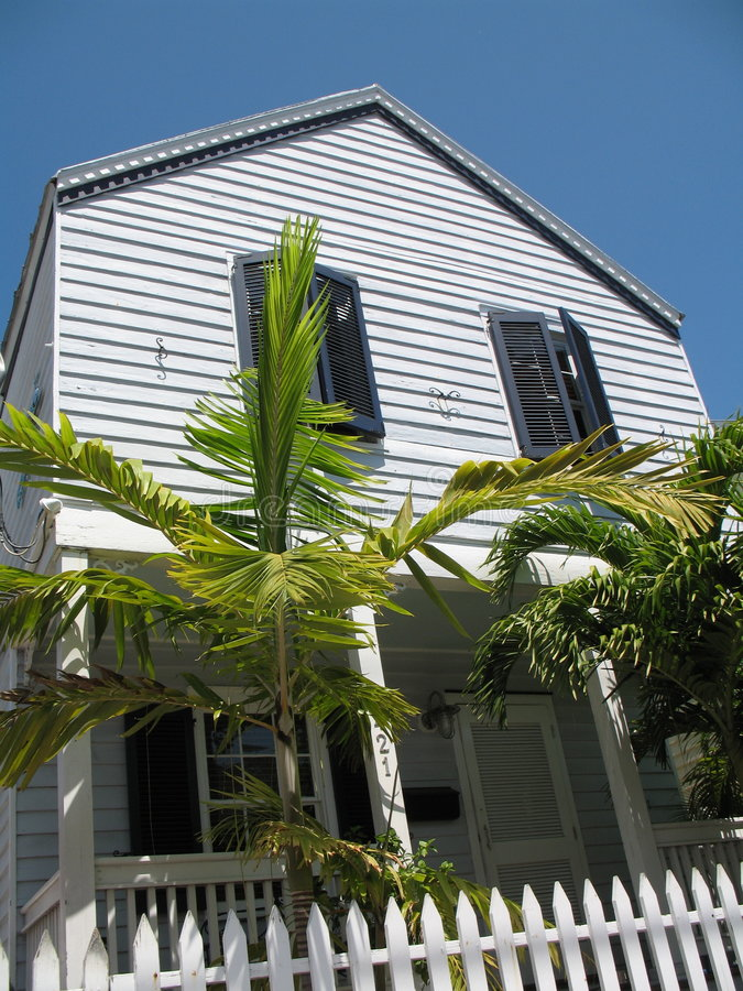 Download Typische Hauptarchitektur Key West Florida Stockbild - Bild von blendenverschluß, typisch: 9075923