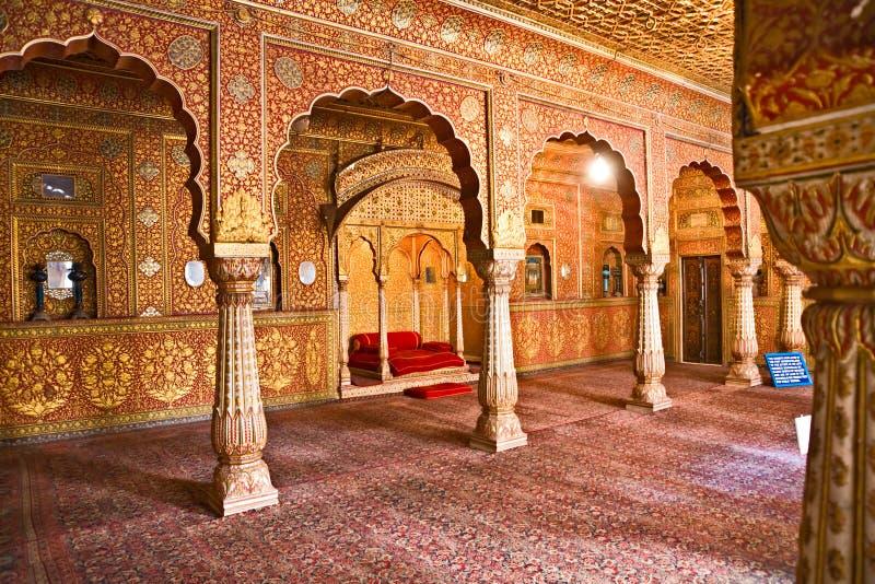 Typische Indische architectuur, India. stock foto's