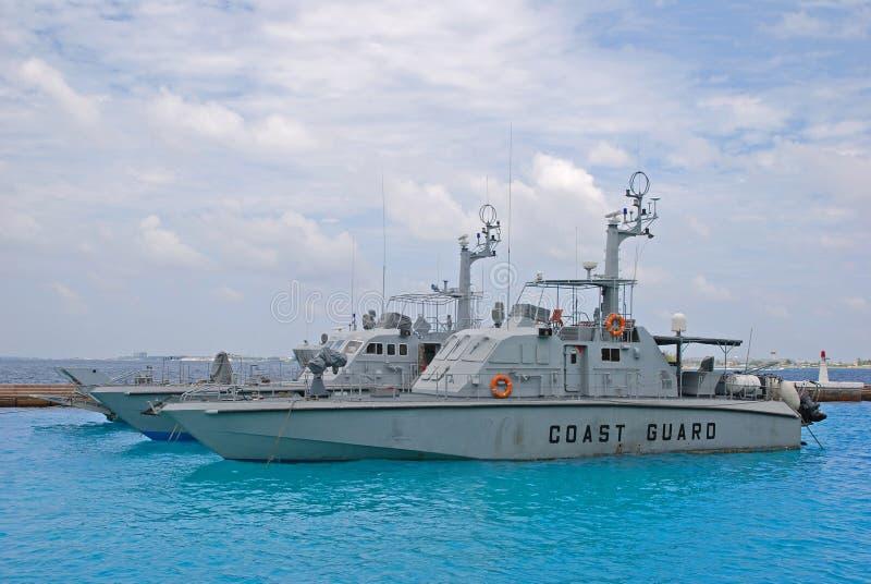 Typische Küstenwache Vessel Cutter Ship stockfotos