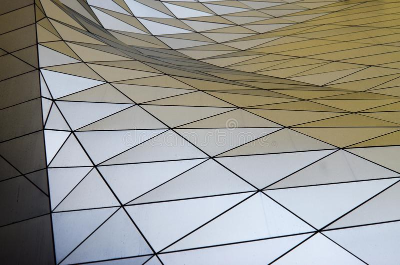 Typische moderne gebouwen @ miket stock foto's