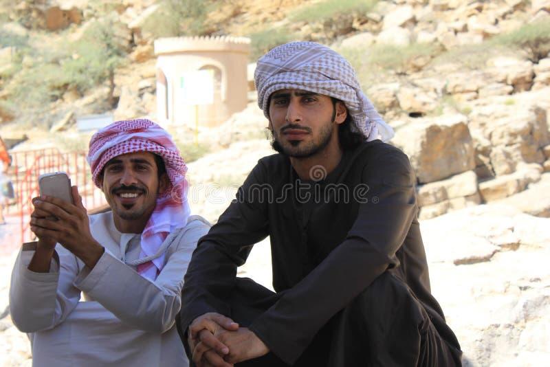 Typische Omani mens royalty-vrije stock fotografie