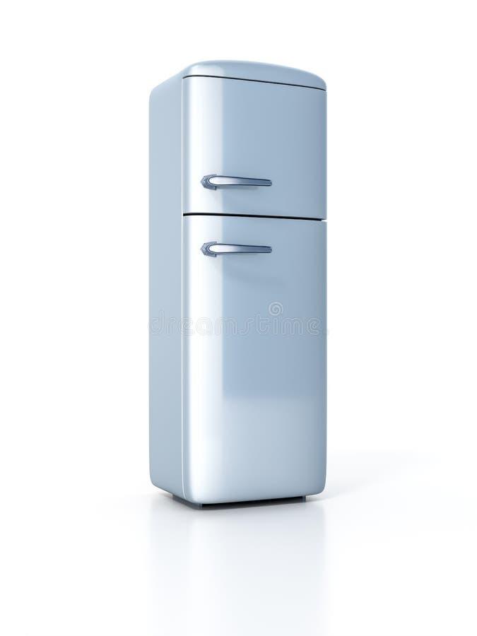 Typischer Kühlschrank lizenzfreie abbildung