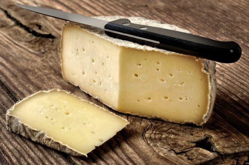 Typischer Weichkäse von Bergamo, Italien lizenzfreie stockfotos