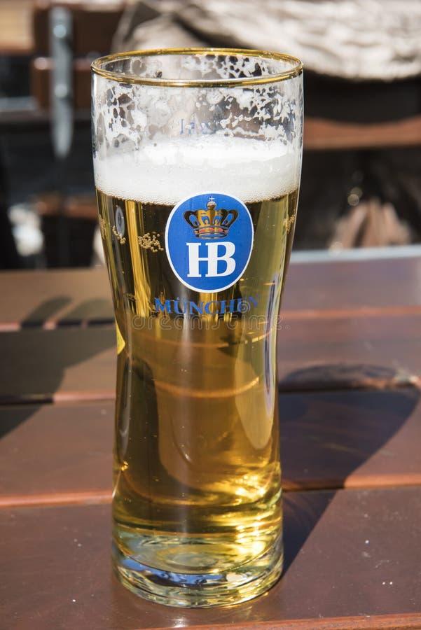 Typisches deutsches Bier stockbild