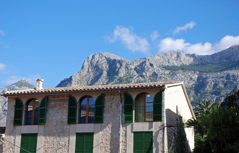 Typisches Haus in Majorca lizenzfreie stockfotografie