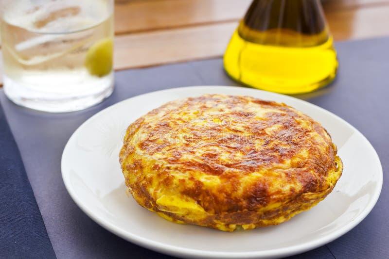 Spanisches Omelett lizenzfreie stockfotos