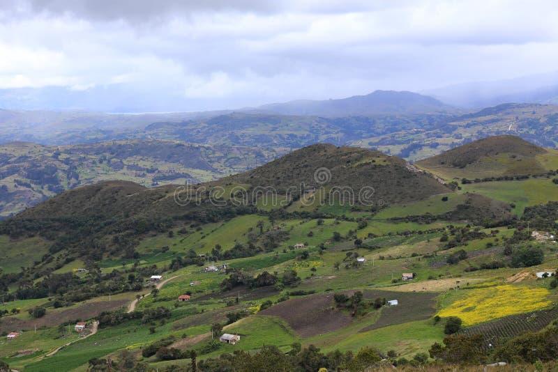 Typisk Colombia landskap royaltyfri foto