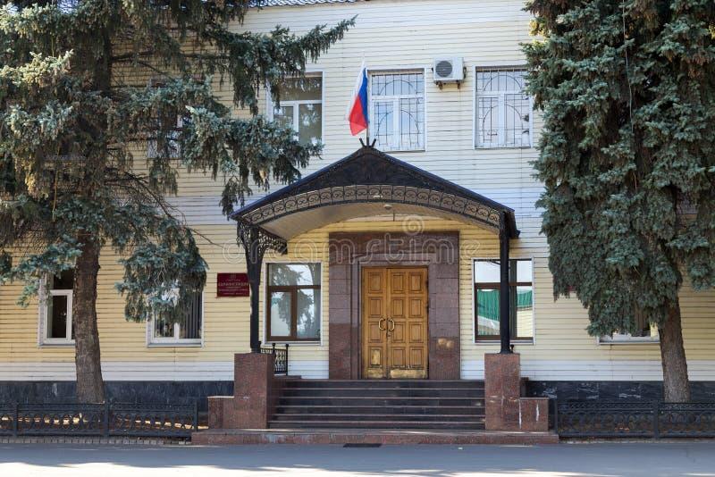 Typisk polsk arkitektur i Rzeszow ankh Ryssland arkivbilder