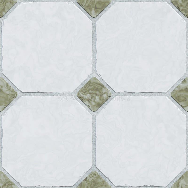 typisk sömlös tegelplattabakgrund royaltyfri illustrationer