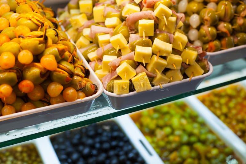 Download Typisk spansk matmarknad. arkivfoto. Bild av läckert - 37347538