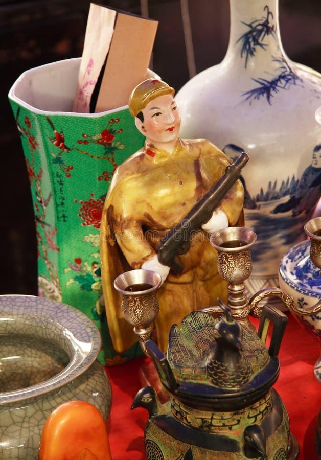 typiska kinesiska souvenir arkivbild