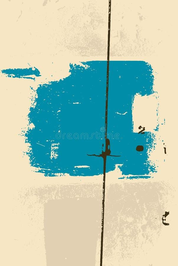 Typograficzny retro grunge abstrakta tło również zwrócić corel ilustracji wektora ilustracja wektor